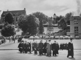 Academic Procession During Outdoor Commencement Exercises at St. Olaf College
