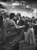 Walter P. Reuther Dancing at the Inaugural Gala for President John F. Kennedy