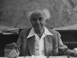 Israeli Pm David Ben-Gurion
