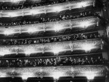 Audience Applauding Ballet Performed in the Bolshoi Theater