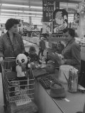 People Shopping in Marshall Field Co. Department Store