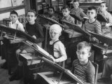 Students Sitting in the Classroom
