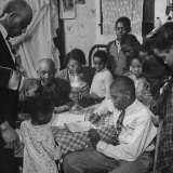 """African American Family in the Memphis Area, Where Richard Wright Wrote the Book Called """"""""Black Boy"""""""""""