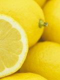 Sliced Lemon (Citrus Limon), Eureka Variety