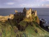 Dunluce Castle,Portrush, County Antrim, Ulster, Northern Ireland, UK