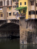 Ponte Vecchio over River Arno, Florence, Tuscany, Italy, Europe