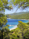 Milia Beach, Skopelos, Sporades Islands, Greek Islands, Greece, Europe