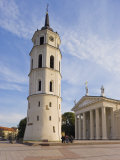 Cathedral Square, Cathedral and 57M Tall Belfry, Vilnius, Lithuania, Baltic States