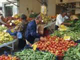 Fruit and Vegetable Market, Piraeus, Athens, Greece, Europe