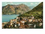View of Lugano, Italy