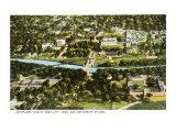 Aerial View, Iowa City, Iowa