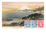 Fuji from Motosu Lake, Japan