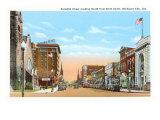 Franklin Street, Michigan City, Indiana