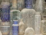 Close-Up of Dusty Bottles, Idaho City, Idaho, USA