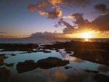 Sunset from Napili Point, Maui, Hawaii, USA