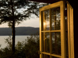 Open Window with a View of Lake Champlain