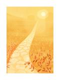 Golden Path in Sunlight