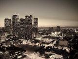 California, Los Angeles, Skyline of Downtown Los Angeles, USA