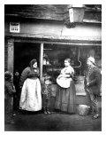 Street Scene in Victorian London