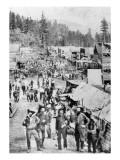 View of the Main Street, Deadwood, Dakota Territory, 1877
