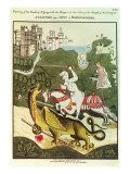 St. George and the Dragon, Warwickshire, 1804