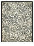 Larkspur, Wallpaper Design, 1872