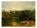 Windsor Castle from the Thames, c.1805