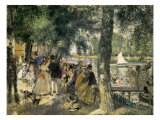 Bathing on the Seine, La Grenouillere, 1869