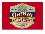 Oh! Boy Homogenized Peanut Butter