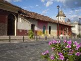 Calle La Calzada, Granada, Nicaragua, Central America