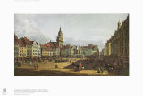 Dresden, the Old Market from the Castle Street