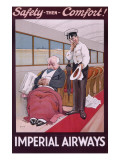 Imperial Airways Poster by John Hassall
