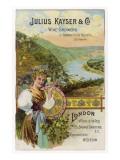 Julius Kayser and Co - German White Wine