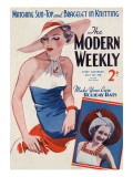 Modern Weekly Magazine Cover