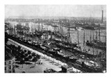 The Harbour at Hamburg, 1892