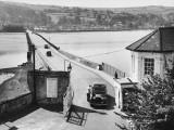 The Teignmouth-Shaldon Toll Bridge, over the River Teign, Devon, England