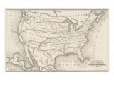 USA Railway Map