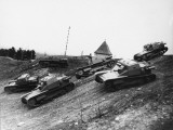 New Fast Austrian Army Tanks on Manoeuvers