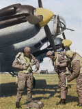 German Aircrew Prepare for a Mission