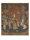 Tenture de la Dame a la Licorne : l'Odorat