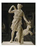 Artemis de Versailles, Diane chasseresse accompagnee d'une biche