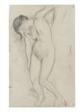 Femme nue, debout
