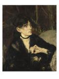 Portrait de Berthe Morisot a l'eventail