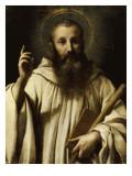 Portrait de Saint Bernard, abbe de Clairvaux (1091-1153)