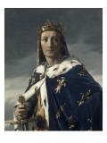 Portrait de Louis VIII (1187-1226), dit le Lion, roi de France en 1223