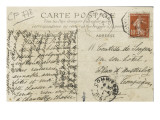 Carte postale : Scene de chasse a Chantilly