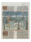 Le Livre de la chasse de Gaston Phebus : maniere de chasser le cerf dans la foret