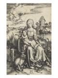 La Vierge a l'Enfant au macaque