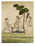 Trois religieuse krisnaites