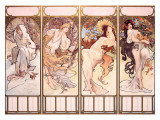 Seasons, Winter Panel, 1897